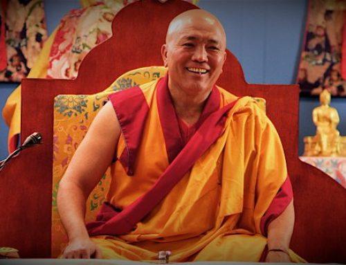 SCONFIGGERE LE PREOCCUPAZIONI- con Ghesce Tenzin Tenphel