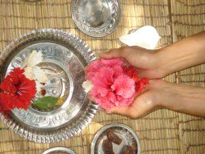 Guru Puja con offerta dello Tzog